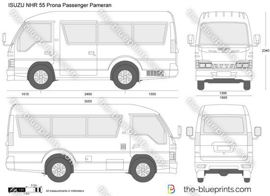 ISUZU NHR 55 Prona Passenger Pameran