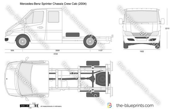 Mercedes-Benz Sprinter Chassis Crew Cab