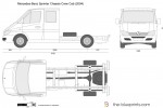 Mercedes-Benz Sprinter Chassis Crew Cab