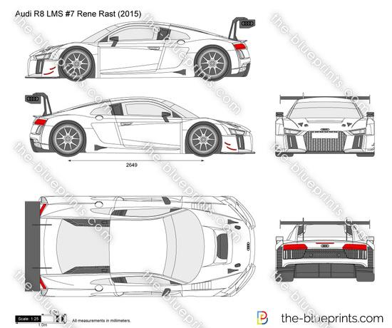 Audi R8 LMS #7 Rene Rast