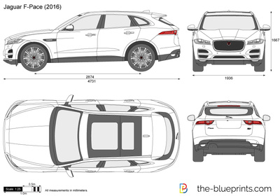 jaguar f pace vector drawing. Black Bedroom Furniture Sets. Home Design Ideas