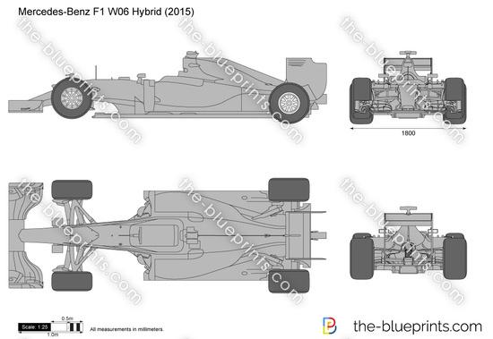 Mercedes-Benz F1 W06 Hybrid