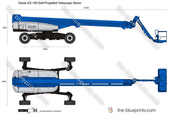 Genie SX-150 Self-Propelled Telescopic Boom