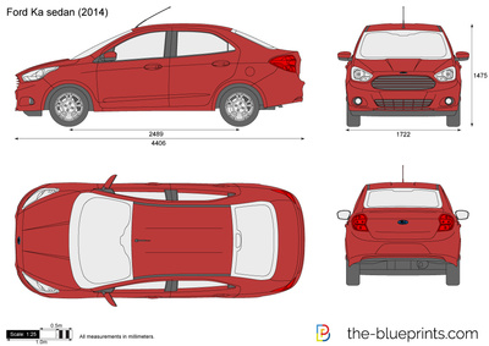 Ford Ka sedan (South America)