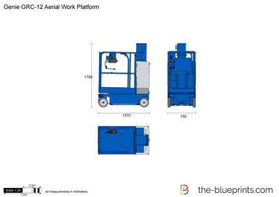 Genie GRC-12 Aerial Work Platform