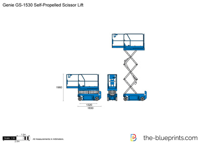 Genie GS-1530 Self-Propelled Scissor Lift