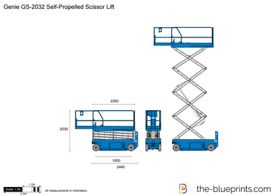 Genie GS-2032 Self-Propelled Scissor Lift