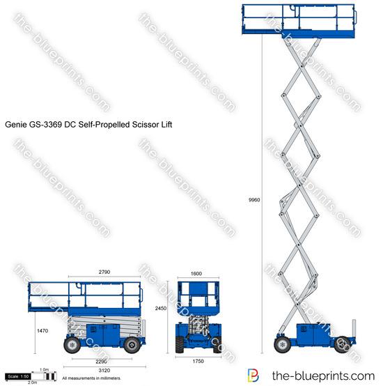 Genie GS-3369 DC Self-Propelled Scissor Lift
