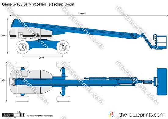 Genie S-105 Self-Propelled Telescopic Boom
