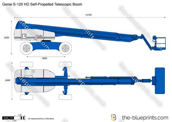 Genie S-120 HD Self-Propelled Telescopic Boom