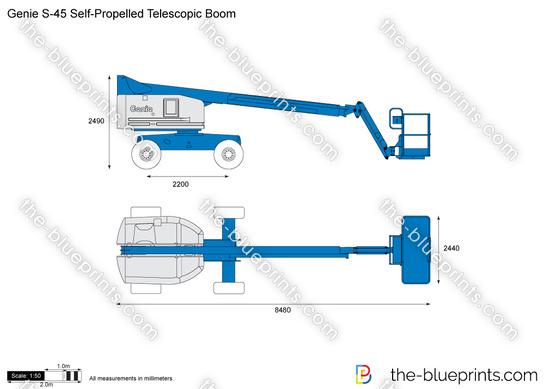 Genie S-45 Self-Propelled Telescopic Boom