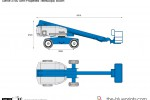 Genie S-60 Self-Propelled Telescopic Boom