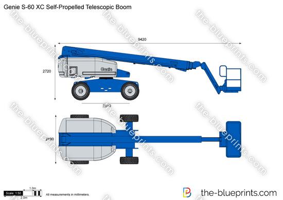 Genie S-60 XC Self-Propelled Telescopic Boom