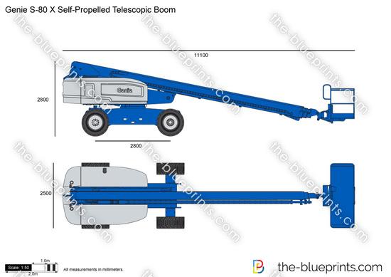 Genie S-80 X Self-Propelled Telescopic Boom