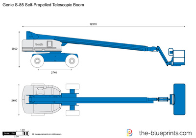 Genie S-85 Self-Propelled Telescopic Boom