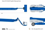 Genie SX-180 Self-Propelled Telescopic Boom