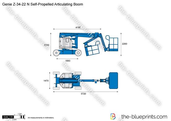 Genie Z-34-22 N Self-Propelled Articulating Boom
