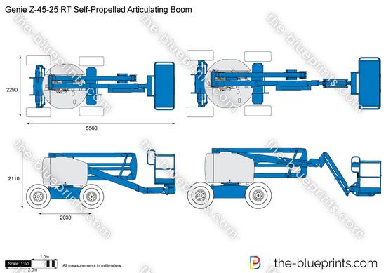 Genie Z-45-25 RT Self-Propelled Articulating Boom