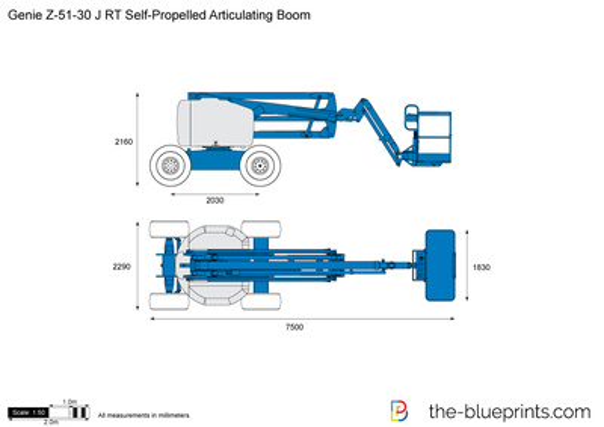 Genie Z-51-30 J RT Self-Propelled Articulating Boom