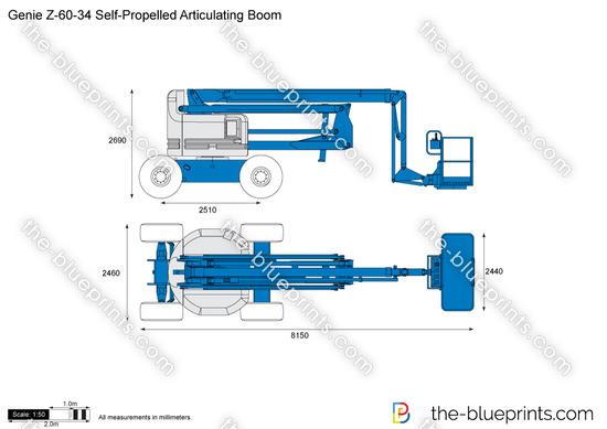 Genie Z-60-34 Self-Propelled Articulating Boom