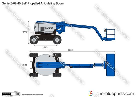 Genie Z-62-40 Self-Propelled Articulating Boom