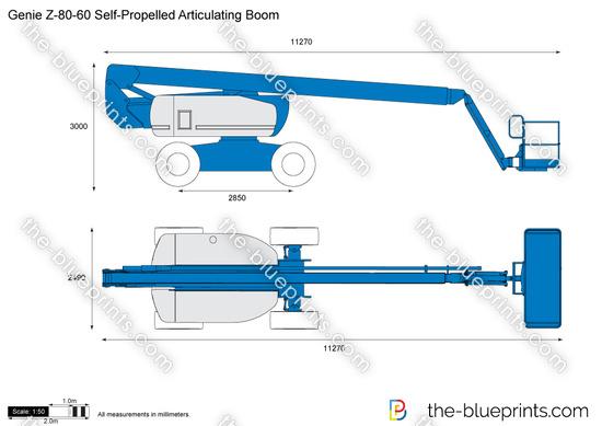 Genie Z-80-60 Self-Propelled Articulating Boom