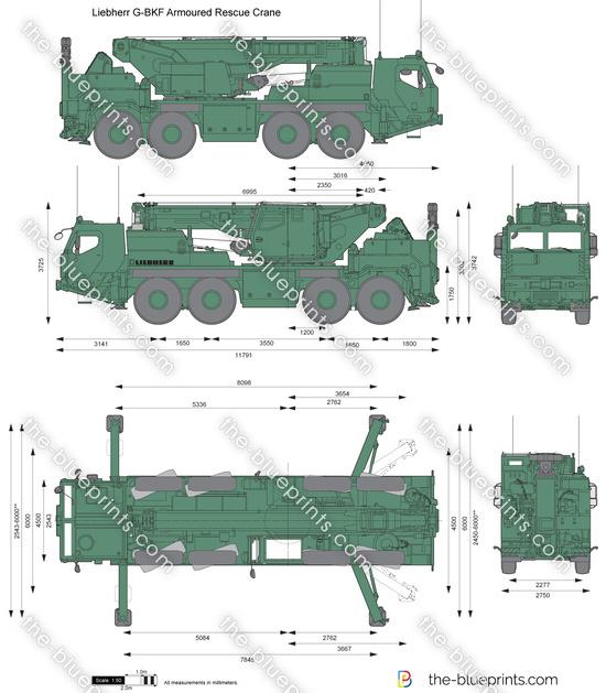 Liebherr G-BKF Armoured Rescue Crane