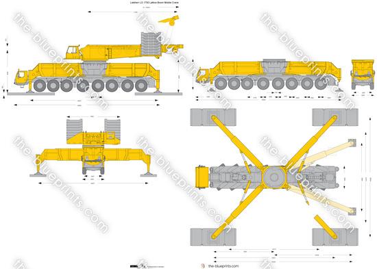 Liebherr LG 1750 Lattice Boom Mobile Crane