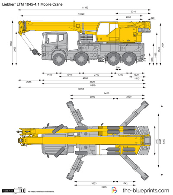 Liebherr LTM 1045-4.1 Mobile Crane