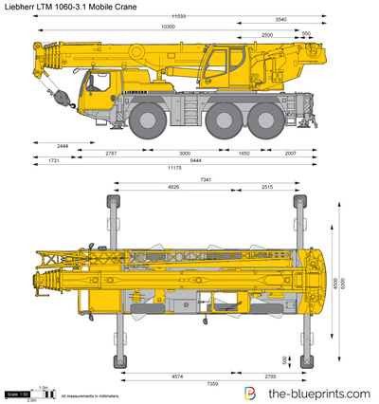 Liebherr LTM 1060-3.1 Mobile Crane