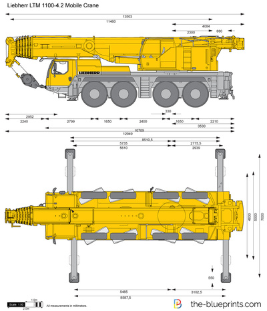 Liebherr LTM 1100-4.2 Mobile Crane