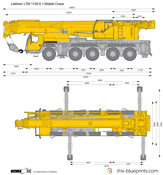 Liebherr LTM 1130-5.1 Mobile Crane