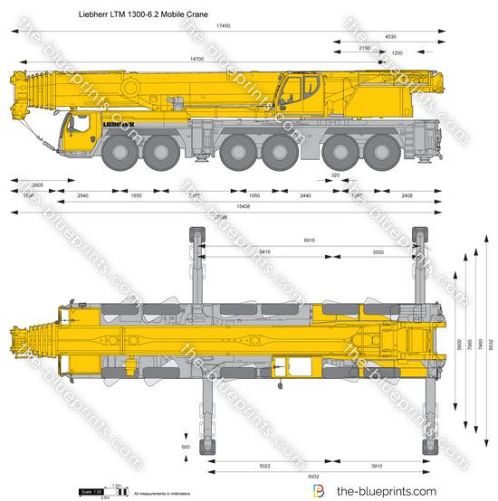 Liebherr LTM 1300-6.2 Mobile Crane