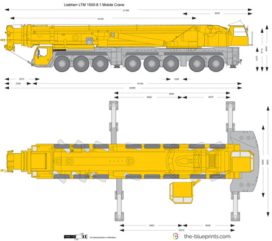 Liebherr LTM 1500-8.1 Mobile Crane