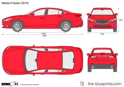 Mazda 6 Sedan (2015)