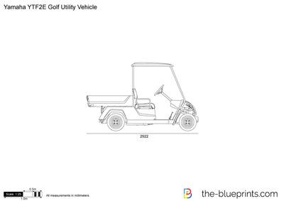 Yamaha YTF2E Golf Utility Vehicle
