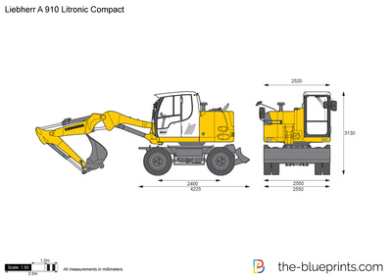 Liebherr A 910 Litronic Compact