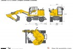 Liebherr A 912 Litronic Compact Wheeled Excavator