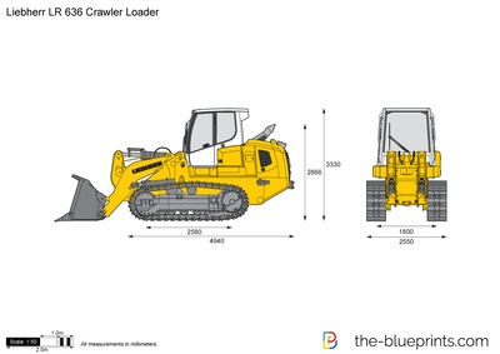 Liebherr LR 636 Crawler Loader