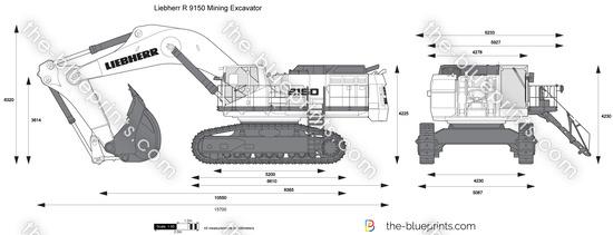 Liebherr R 9150 Mining Excavator