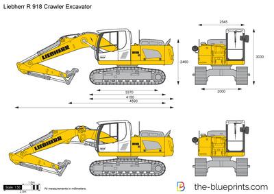 Liebherr R 918 Crawler Excavator