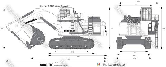 Liebherr R 9200 Mining Excavator