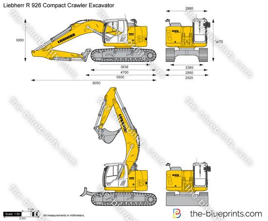 Liebherr R 926 Compact Crawler Excavator
