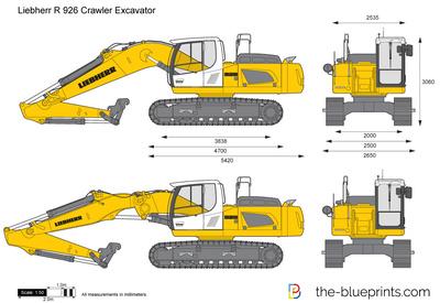 Liebherr R 926 Crawl…