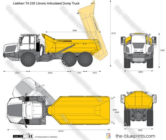 Liebherr TA 230 Litronic Articulated Dump Truck