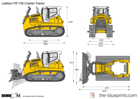 Liebherr PR 736 Crawler Tractor