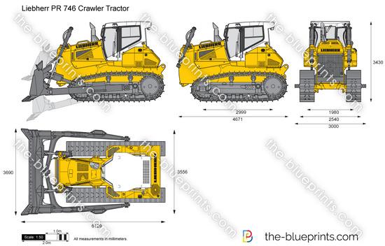 Liebherr PR 746 Crawler Tractor