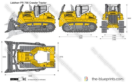 Liebherr PR 756 Crawler Tractor