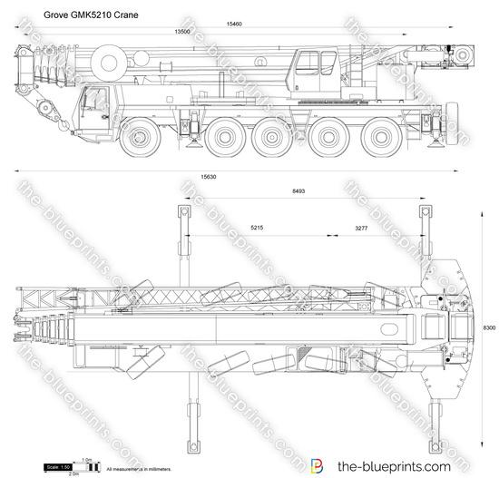 Grove GMK5210 Crane