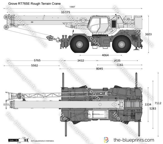 Grove RT765E Rough Terrain Crane
